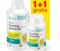Evening Primrose + Vitamina E 90 + 30cps GRATIS