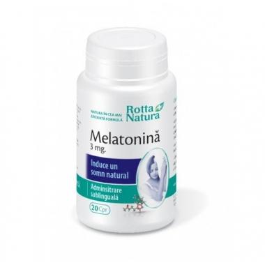 Melatonina 3mg 20cps