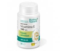 Natural Vitamina E 100 UI 30cps