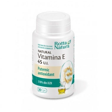 Natural Vitamina E 45 UI 30cps