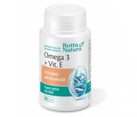Omega 3 1000mg + vitamina E 30cps