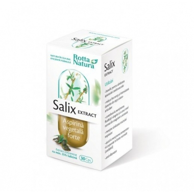 Salix Extract - Aspirina vegetala Forte 30cps