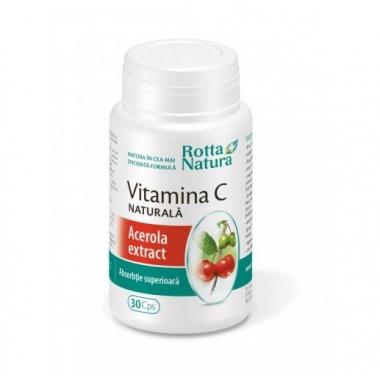 Vitamina C naturala - Acerola 30cps