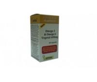 Omega 3 & Omega 6 Vegetal 600 mg x 60 cps
