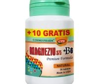 Magneziu 375 mg + B6 x 30cpr+10cpr gratis