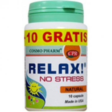 Relax No Stress x 10 cps +10 cps gratis