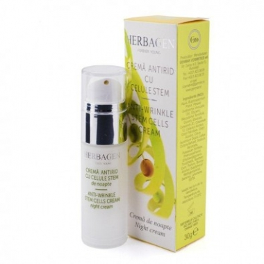 Crema antirid de noapte cu celule stem x 30 ml