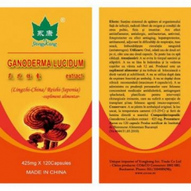Ganoderma 425 mg x 120 cps
