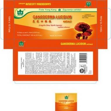 Ganoderma Lucidum 10 fiole x 10 ml