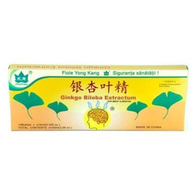 Ginkgo Biloba 10 fiole x 10 ml