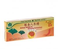 Ginkgo Biloba & Ginseng 10 fiole x 10 ml