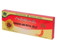 Ginseng & Royal Jelly 10 fiole x 10 ml