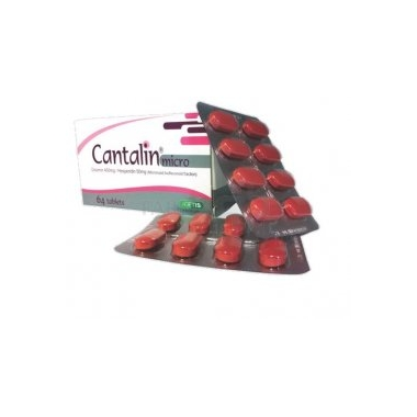 Cantalin Micro 450/50 mg x 32 cpr, Medochemie