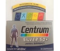 Centrum Silver 50+barbati x 30 cpr, Pfizer