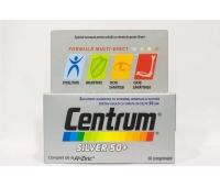 Centrum Silver 50+ x 60 cpr, Pfizer