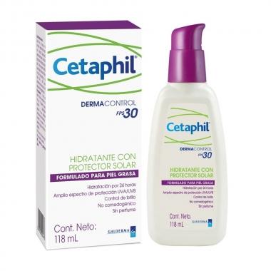 Cetaphil DermaControl Crema hidratanta SPF30 x 118 ml, Neola
