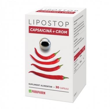 Lipostop capsaicina plus crom oferta 2+1 Gratis