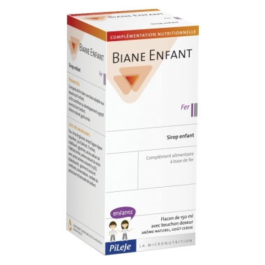 PiLeJe Biane Enfant Sirop copii - Fier, 150ml