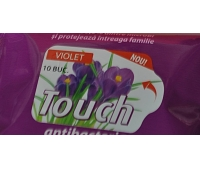TOUCH SER.UMEDE ANTIBACT. VIOLET 15BUC SARAH
