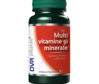MULTIVITAMINE SI MINERALE 60CPS, DVR PHARM