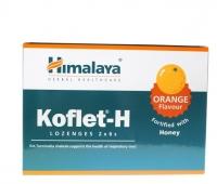 KOFLET PASTILE PORTOCALE 12BUC 170004, HIMALAYA HERBAL