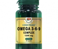 OMEGA 3-6-9 COMPLEX 1206MG 30CPS, COSMO PHARM - PREMIUM