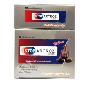 StopArtroz Ultra 20 Plic + 10 Plic Gratis