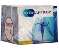 StopArtroz X 10 plic 2 + 1 Gratis