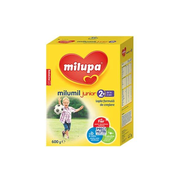 Milupa Milumil Junior 2+ new x 600 gr