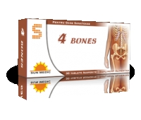 4 Bones carbonat de calciu 1000 mg