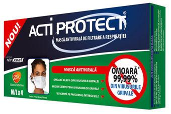 Masca antivirala dubla protectie