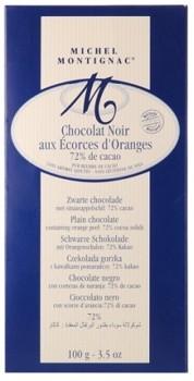 Ciocolata neagra 85% cu coaja de portocala Montignac