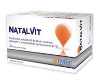 NatalVit- Complex de Vitamine Pro si Postnatal
