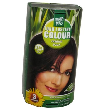 Henna Plus Long Lasting Colour- Vopsea de Par Nuanta 2.66