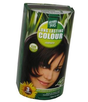Henna Plus Long Lasting Colour- Vopsea de Par Nuanta 4.56