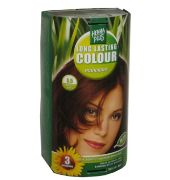 Henna Plus Long Lasting Colour- Vopsea de Par Nuanta 5.5