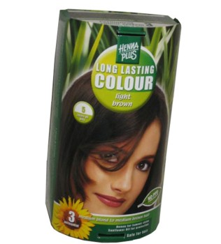 Henna Plus Long Lasting Colour- Vopsea de Par Nuanta 5