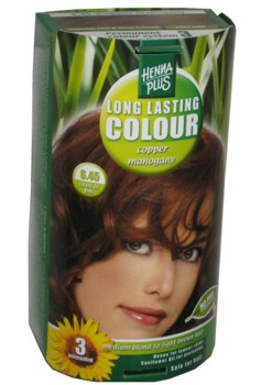 Henna Plus Long Lasting Colour- Vopsea de Par Nuanta 6.45