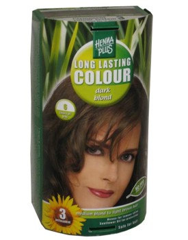 Henna Plus Long Lasting Colour- Vopsea de Par Nuanta 6
