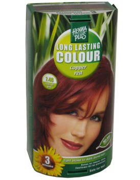 Henna Plus Long Lasting Colour- Vopsea de Par Nuanta 7.46