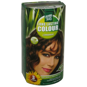 Henna Plus Long Lasting Colour- Vopsea de Par Nuanta 7.38