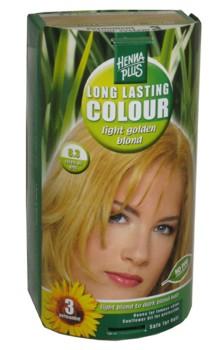 Henna Plus Long Lasting Colour- Vopsea de Par Nuanta 8.3