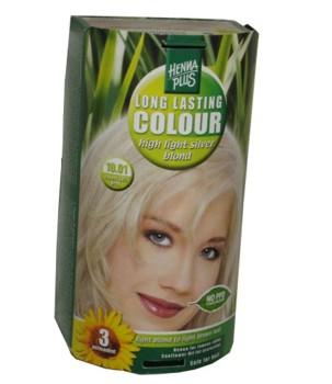 Henna Plus Long Lasting Colour- Vopsea de Par Nuanta 10.01