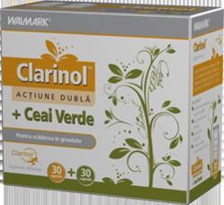 Clarinol + Ceai Verde