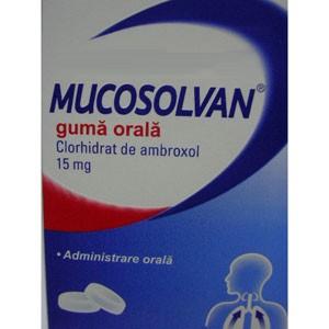 Mucosolvan Guma Orala