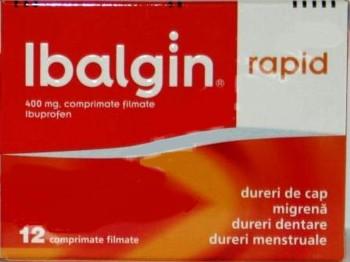 Ibalgin rapid 400 mg x 12