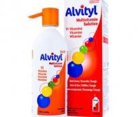 Alvityl Multivitamine Solutie orala x 150 ml, Urgo