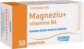 Magneziu cu Vitamina B6 Ozone STOC 0