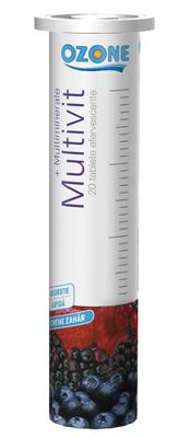 Multivitamine + Minerale efervescente Ozone-STOC 0