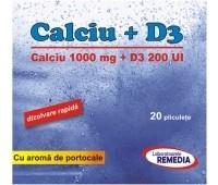 Calciu + D3